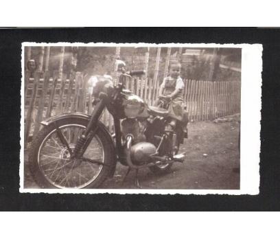 D&K- ESKİ JAVA MOTOSİKLET 1951 YILI FOTOĞRAF