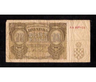 D&K- HIRVATİSTAN 10 KUNA 1941 YILI
