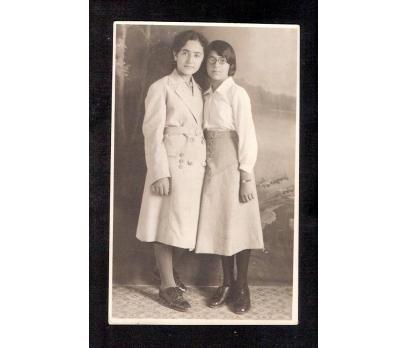 D&K- İKİ GENÇ KIZ 1931 YILI FOTOĞRAF