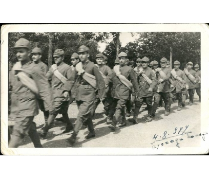 D&K- İSTANBUL AYAZAGA KAMPI 1944 YILI FOTOĞRAF