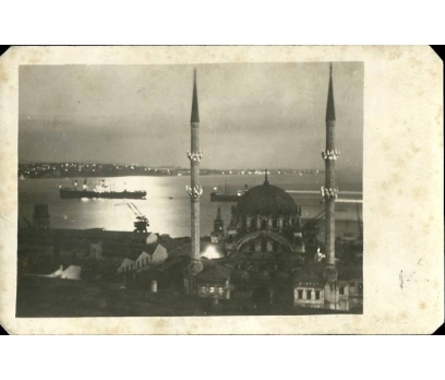 D&K- İSTANBUL CAMİ VE BOĞAZ GECE FOTOĞRAF