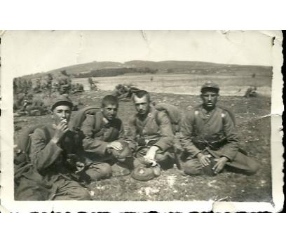 D&K- İSTANBUL ÜMRANİYE 1940 YILI ASKERLER