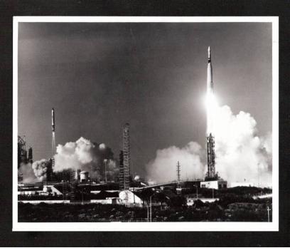 D&K- NASA GEMİNİ UZAY MEKİĞİNİN FIRLATIŞ ANI