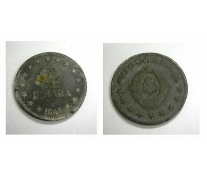 D&K- YUGOSLAVYA 2 DİNAR 1945 ÇİNKO