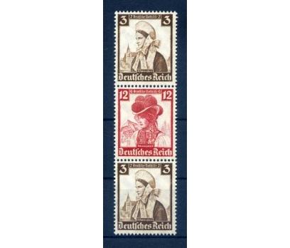 REİCH 1935 ŞARNİYERLİ KIYAFETLER KARNE PARÇASI