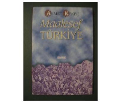 MAALESEF TÜRKİYE AHMET KEKEÇ
