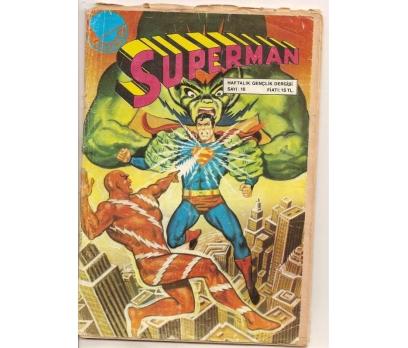 SUPERMAN SAYI 16 ÇİZGİ ROMAN