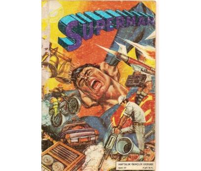 SUPERMAN SAYI 37 ÇİZGİ ROMAN