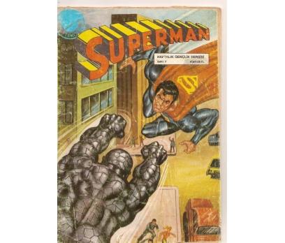 SUPERMAN SAYI 7 ÇİZGİ ROMAN
