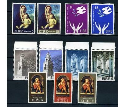 İRLANDA ** 1974-75  4 TAM SERİ SÜPER