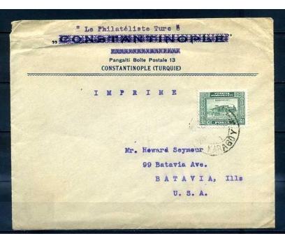 CUMHURİYET 1929 3. LONDRA  (TREN) TEK PULLU PGZ