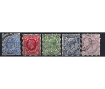 İngiltere Eski Klasikler Damgalı (GB201207)