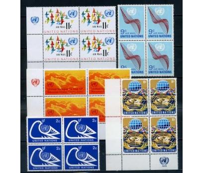 BM  ABD ** 1972-74  DÖRTLÜ BLOKLAR SÜPER