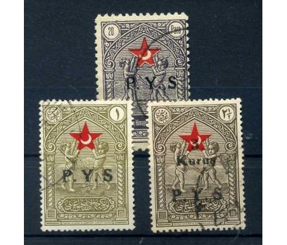 ÇEK DAMGALI 1936 P.Y.S. S. 1.SERİ TAM