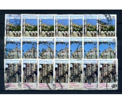 CUMH.DAMGALI 1984 UNESCO 7 TAM SERİ SÜPER