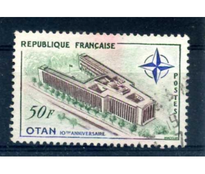 FRANSA DAMGALI 1959 NATO 10.YILI TAM SERİ