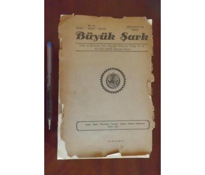 BÜYÜK ŞARK DERGİSİ - YIL 1934 SAYI 15