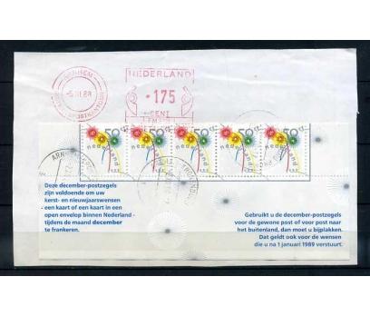 HOLLANDA 1988 KARNE PARÇ.İLE FRAGMAN SÜPER(K-1)