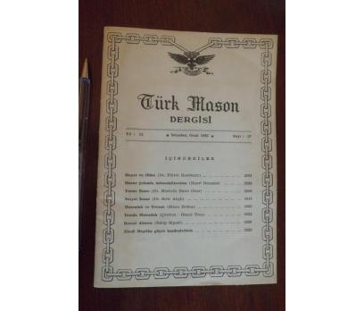 TÜRK MASON DERGİSİ  - YIL 15 SAYI 57 OCAK 1965