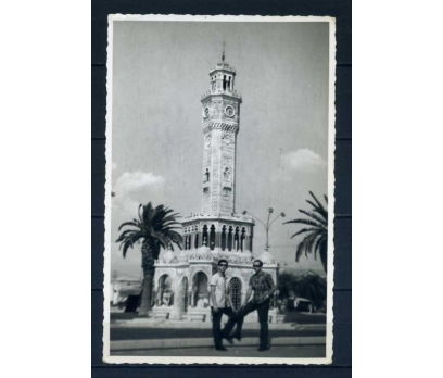 İZMİR 1965 SAAT KULESİ  FOTO KART SÜPER(M)