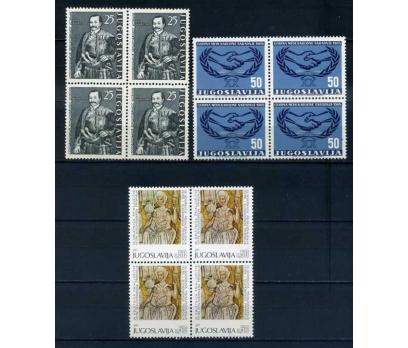 YUGOSLAVYA ** 1961-65  3 TAM SERİ DBL SÜPER