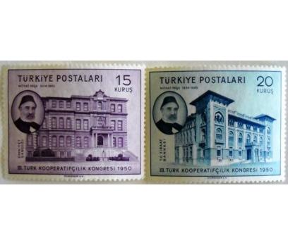 1950, III. TÜRK KOOPERATİFÇİLİK KONG.P.SERİSİ,MNH