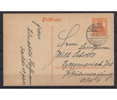 Deutsches Reich Nazi Klasik Antiye Post Card
