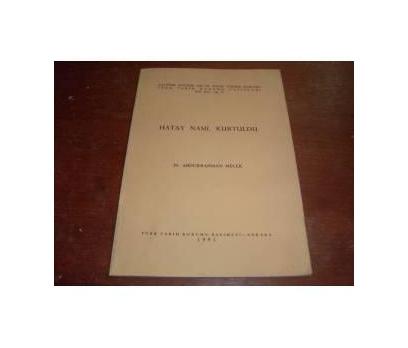 HATAY NASIL KURTULDU - ABDURRAHMAN MELEK