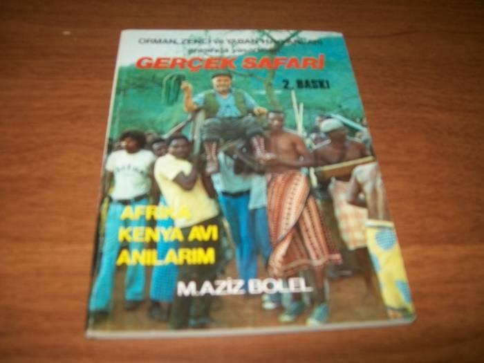 GERÇEK SAFARİ/ AFRİKA KENYA AVI ANILARIM-M.AZİZ 1