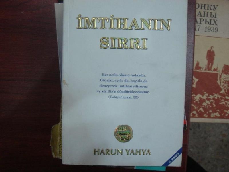 İMTİHANIN SIRRI / Harun Yahya 1