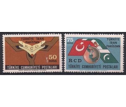 1965 RCD Bölgesel İşbirliği Kuruluşu Damgasız**
