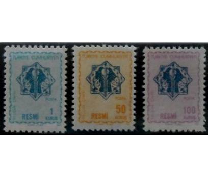 1967, RESMİ PULLAR**