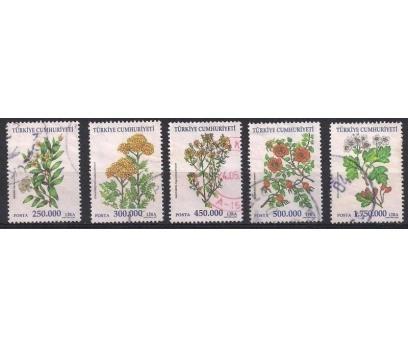 2001 Şifalı Bitkiler Damgalı Seri