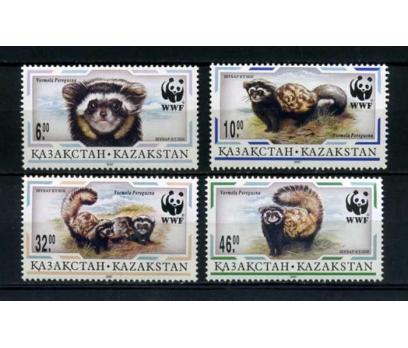 KAZAKİSTAN ** 1997 WWF HAYVANLAR TAM SERİ SÜPER