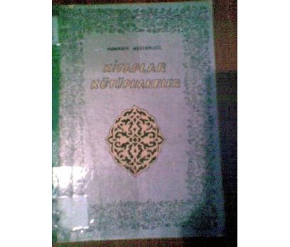 KİTAPLAR KÜTÜPHANELER MUHARREM MERCANLIGİL