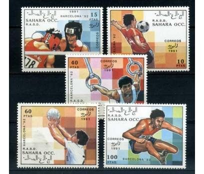 SAHARA ** 1992 OLİMPİYATLAR TAM SERİ SÜPER(1012)