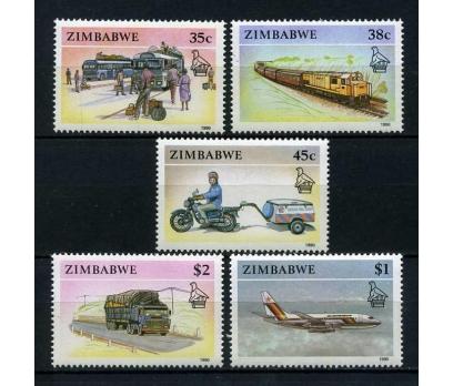 ZİMBABVE ** 1990 TAŞITLAR & TRENLER SÜPER(0113)