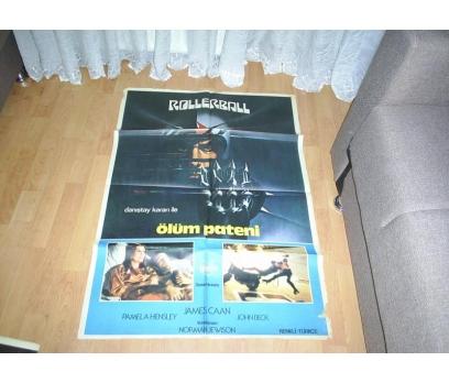 ROLLERBALL ÖLÜM PATENİ YABANCI SİNEMA FİLM AFİŞ