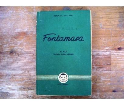 FONTAMARA  İGNAZIO SILONE