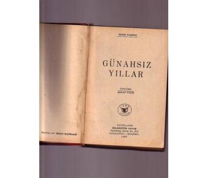 GÜNAHSIZ YILLAR EDITH WARTON 1