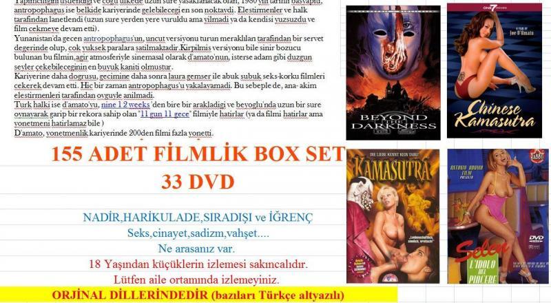 Joe D'amato Filmleri Boxset sıradışı harika 2