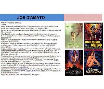 Joe D'amato Filmleri Boxset sıradışı harika