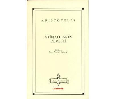 atinalıların devleti - aristoteles