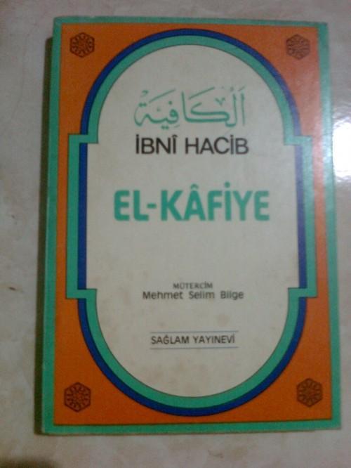 EL-KAFİYE İBNİ HACİB 1