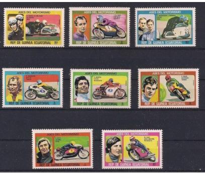 1976 Ekvator Gine Motorlar Set Damgasız**