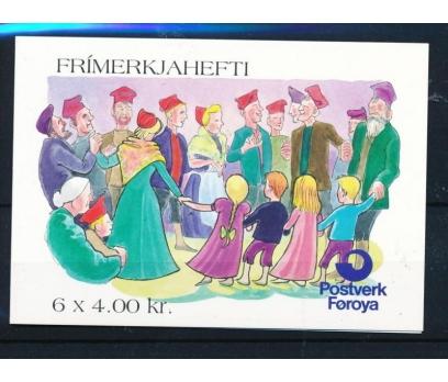 1994 Faroe Adaları Farewell To Winter Booklet**