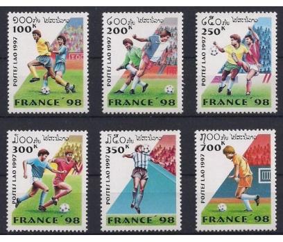 1997 Laos Fransa Dünya Kupası Futbol Damgasız**