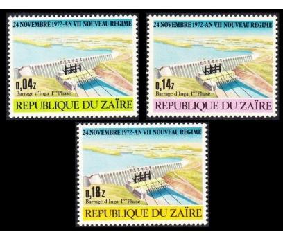 1973 Zaire İnga Barajı Damgasız**