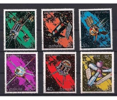 1976 Kuzey Kore Uzay Programı Damgalı