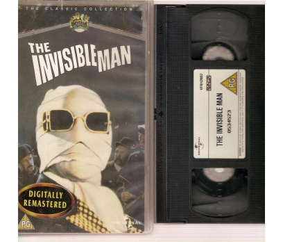The invisible Man VHS